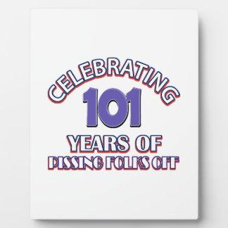 101 años de infierno de aumento placas para mostrar
