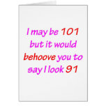101 Behoove le Felicitaciones