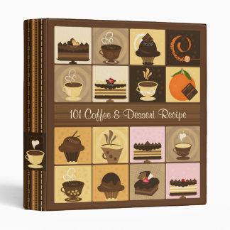 101 Coffee & Dessert Recipe Binder