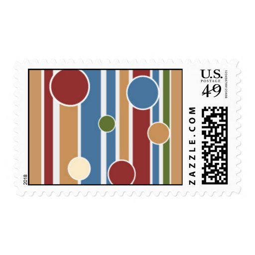 101 COLORFUL STRIPES CIRCLES PATTERNS FUN PARTY GR STAMPS