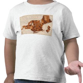 101 consumo NY, NJ, Nueva Inglaterra Camisetas