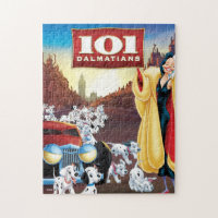 101 Dalmatian Movie Poster Jigsaw Puzzle