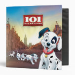 101 Dalmatian Patches Wagging his Tail Vinyl Binder