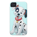 101 Dalmatian Patches Wagging his Tail iPhone 4 Cases