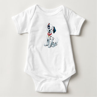 101 Dalmatian Patches Wagging his Tail Disney Baby Bodysuit