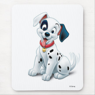 101 Dalmatian Patches Wagging his Tail Disney Mouse Pad