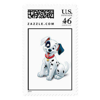 101 Dalmatian Patches Wagging his Tail Disney Postage Stamp