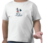 101 Dalmatian Patches Wagging his Tail Disney T-shirts