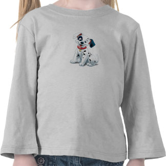 101 Dalmatian Patches Wagging his Tail Disney Tee Shirts