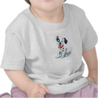 101 Dalmatian Patches Wagging his Tail Disney T Shirts