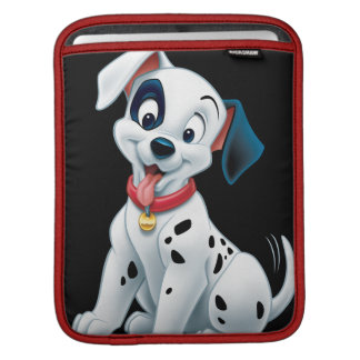 101 Dalmatian Patches Wagging his Tail iPad Sleeve