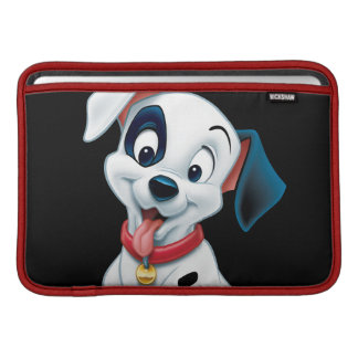 101 Dalmatian Patches Wagging his Tail MacBook Sleeves