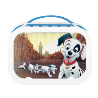 101 Dalmatian Patches Wagging His Tail Lunch Box at Zazzle