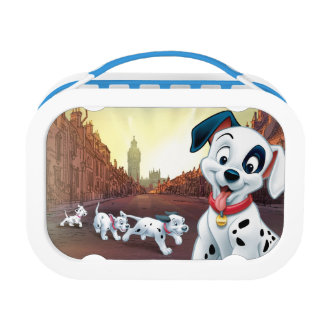 101 Dalmatian Patches Wagging his Tail Lunch Box