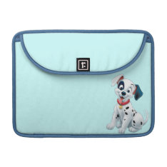 101 Dalmatian Patches Wagging his Tail MacBook Pro Sleeve at Zazzle