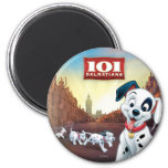 101 Dalmatian Patches Wagging his Tail Magnet