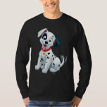 101 Dalmatian Patches Wagging his Tail Shirts