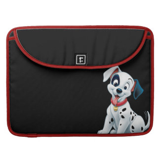 101 Dalmatian Patches Wagging his Tail Sleeve For MacBook Pro