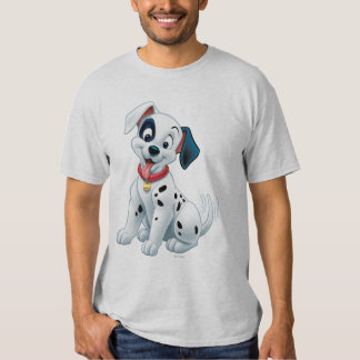 101 Dalmatian Patches Wagging his Tail T Shirt