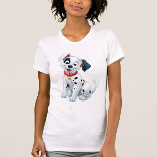 101 Dalmatian Patches Wagging his Tail Tee Shirt