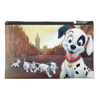 101 Dalmatian Patches Wagging his Tail Travel Accessory Bag