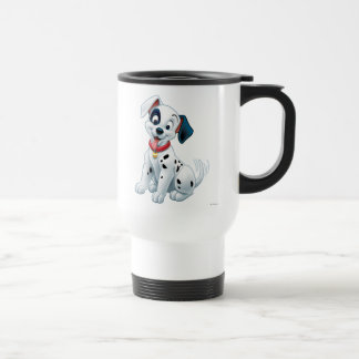 101 Dalmatian Patches Wagging his Tail Travel Mug