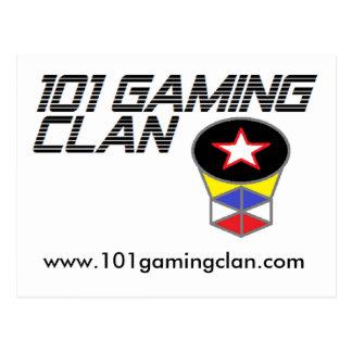 101 Gaming Clan, Post Card
