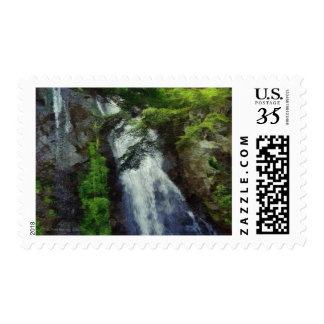 101 JAPAN FOREST WATERFALL POSTAGE