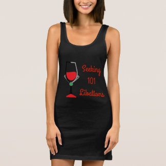 101 Libations - Bad Girls Drinking Club Sleeveless Dress