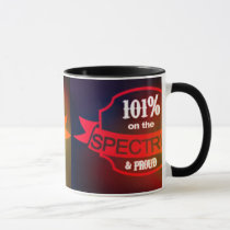 101% On the spectrum and proud! Mug
