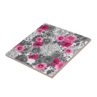 101 pink and grey photographic aop ceramic tile