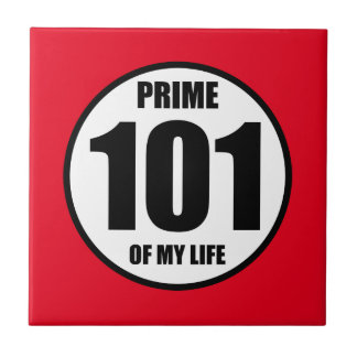 101 - prime of my life tile