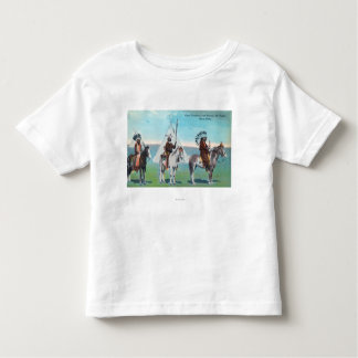 101 Ranch View of Chief Goodboy and Braves Toddler T-shirt