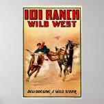 101 rancho - impresión poster