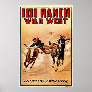 101 rancho - impresión póster