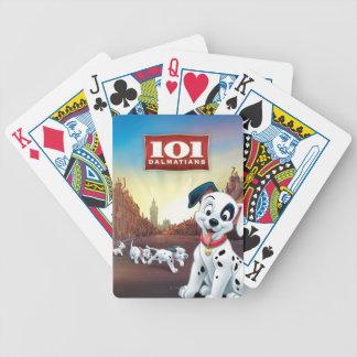 101 remiendos dálmatas que menean su cola baraja de cartas