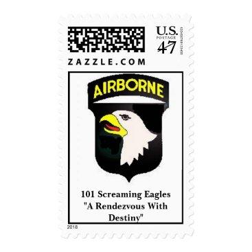 MrFlamboyant 101 Screaming Eagles  Postage