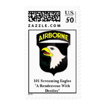 101 Screaming Eagles  Postage