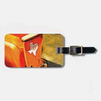 101 seat row 13 Astrodome Travel Bag Tag