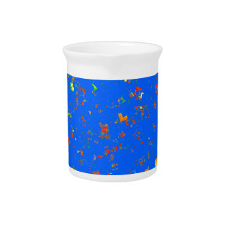 101  Template for quick create BLUE part 1 Beverage Pitchers