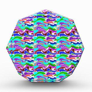 101 TEMPLATE Tiled Art easy to add TEXT  IMAGE fun Acrylic Award