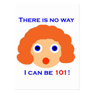 101 There is no way Postcard