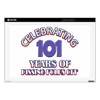 101 years of raising hell decals for laptops