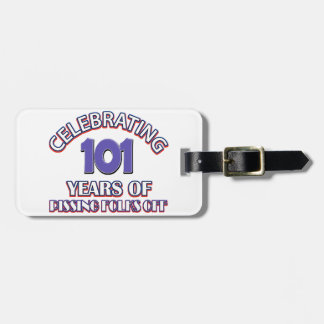 101 years of raising hell luggage tag
