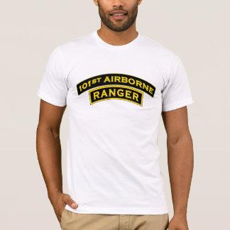 101o Camiseta aerotransportada de la etiqueta del