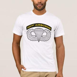 101o Camiseta aerotransportada y del salto de las