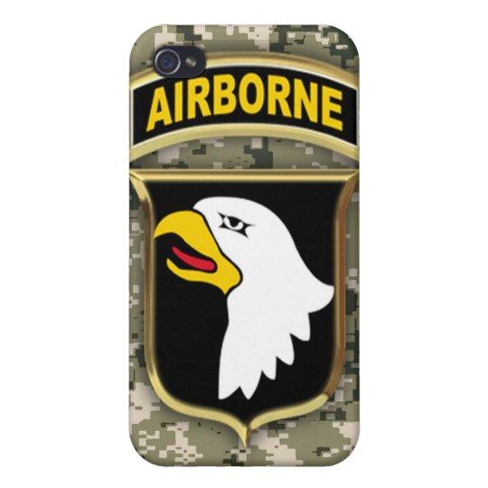 101o Caso del iPhone 4 de la división aerotranspor iPhone 4 Fundas