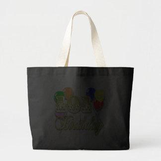 101o Cumpleaños con la bolsa de asas de los globos