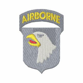 101o. División aerotransportada Camiseta Polo Bordada