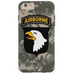 """101o División aerotransportada de """"Eagles Funda De iPhone 6 Plus Tough"""